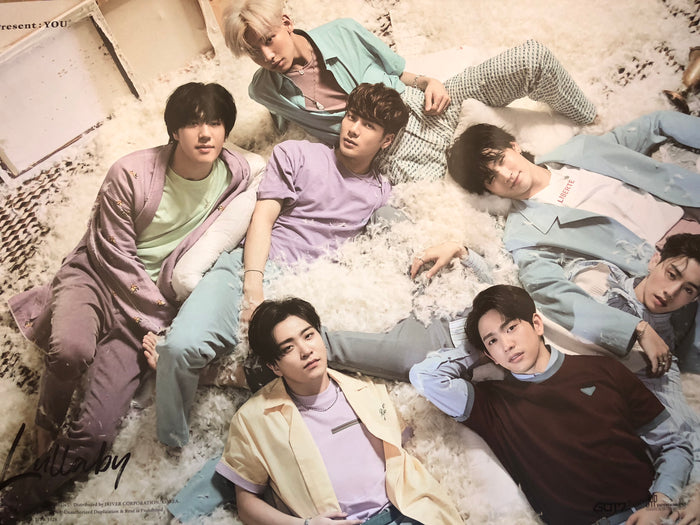 GOT7 3RD ALBUM [PRESENT : YOU] OFFICIAL GROUP POSTER - PHOTO CONCEPT #1