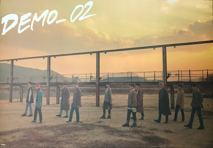 펜타곤 PENTAGON - Demo_01 OFFICIAL POSTER