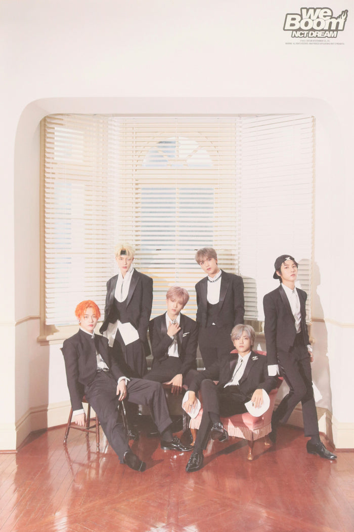 NCT Dream We Boom Official Poster - Photo Concept 1