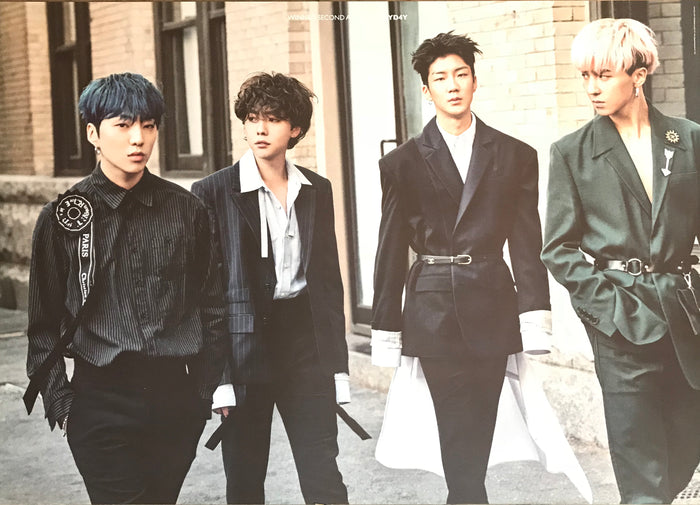 위너 WINNER 2ND ALBUM - EVERYD4Y OFFICIAL POSTER (TWO-SIDED)