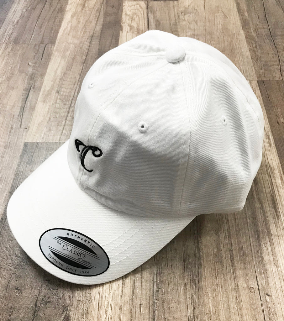 """Represent"" Choice Gang Dad Hat - White"