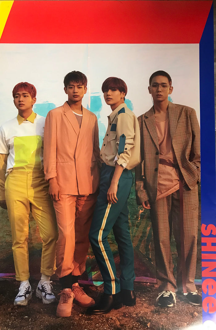 샤이니 SHINEE 6TH ALBUM STORY OF LIGHT OFFICIAL POSTER - EP. 1