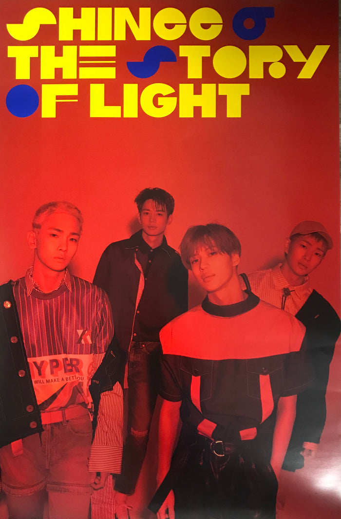 샤이니 SHINEE 6TH ALBUM STORY OF LIGHT OFFICIAL POSTER - EP. 3