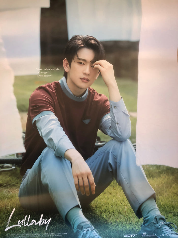 GOT7 3RD ALBUM [PRESENT : YOU] LIMITED EDITION MEMBER POSTER - JINYOUNG
