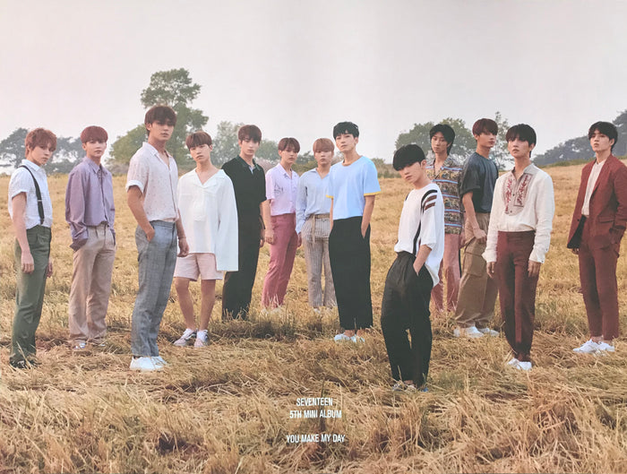 세븐틴 SEVENTEEN 5TH MINI ALBUM [YOU MAKE MY DAY] OFFICIAL POSTER - Concept Photo #3