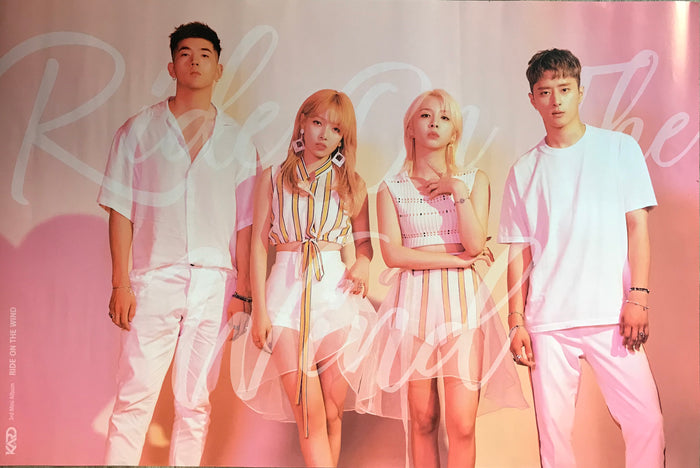카드 KARD 3RD MINI ALBUM [RIDE ON THE WIND] OFFICIAL POSTER