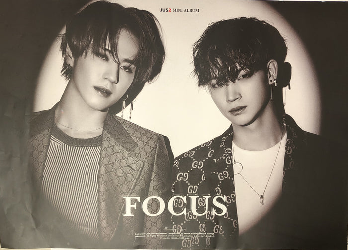 Jus2 1st Mini Album Focus Official Poster - Photo Concept Group