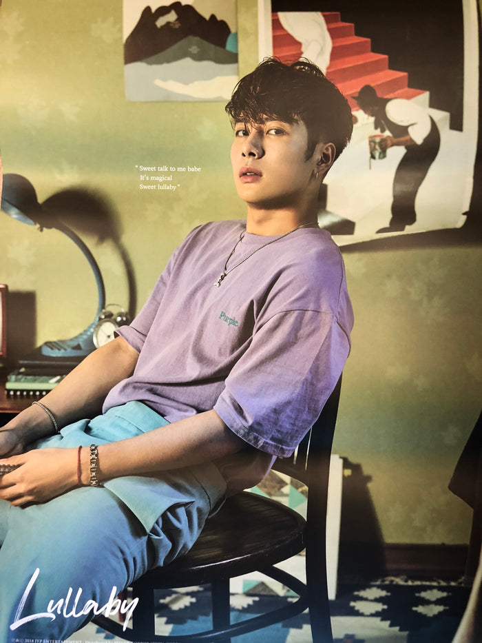 GOT7 3RD ALBUM [PRESENT : YOU] LIMITED EDITION MEMBER POSTER - JACKSON