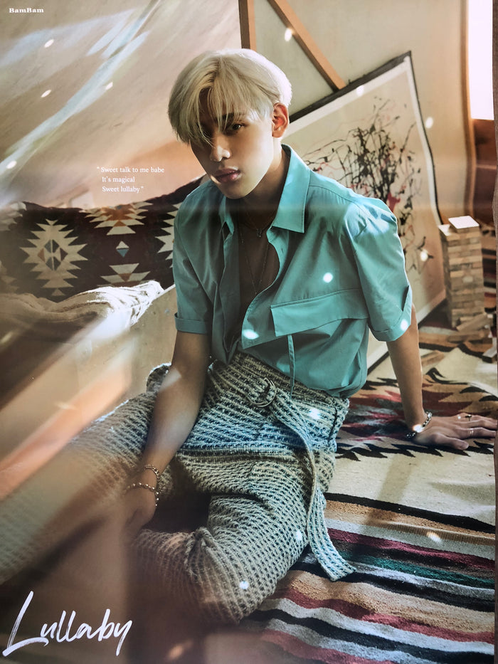 GOT7 3RD ALBUM [PRESENT : YOU] LIMITED EDITION MEMBER POSTER - BAMBAM