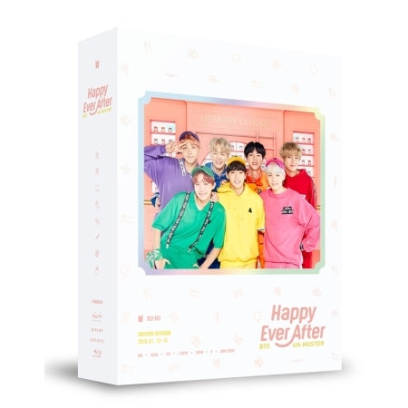 방탄소년단 - BTS 4TH MUSTER [HAPPY EVER AFTER] BLU-RAY (3 DISC)