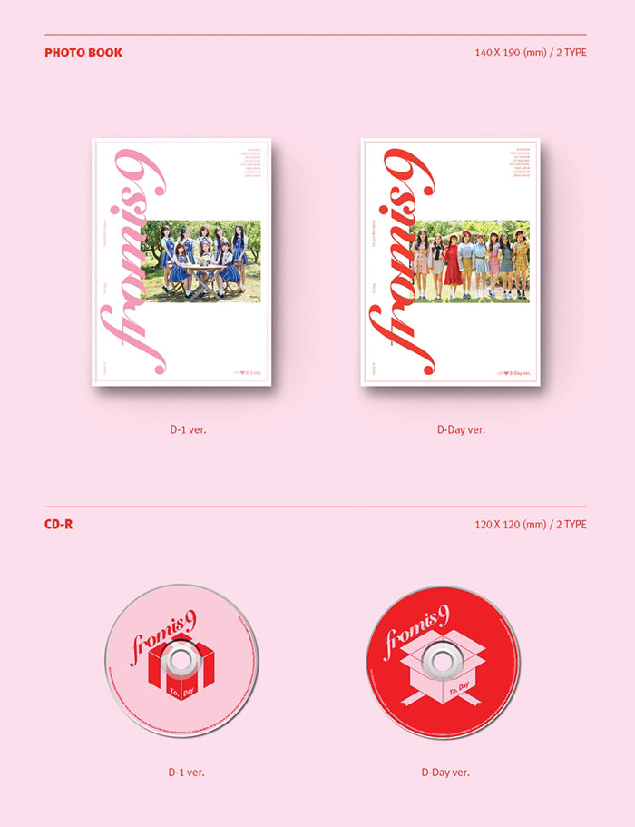 프로미스나인 FROMIS_9 2ND MINI ALBUM - TO. DAY