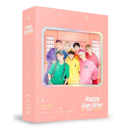 방탄소년단 - BTS 4TH MUSTER [HAPPY EVER AFTER] DVD (3 DISC)