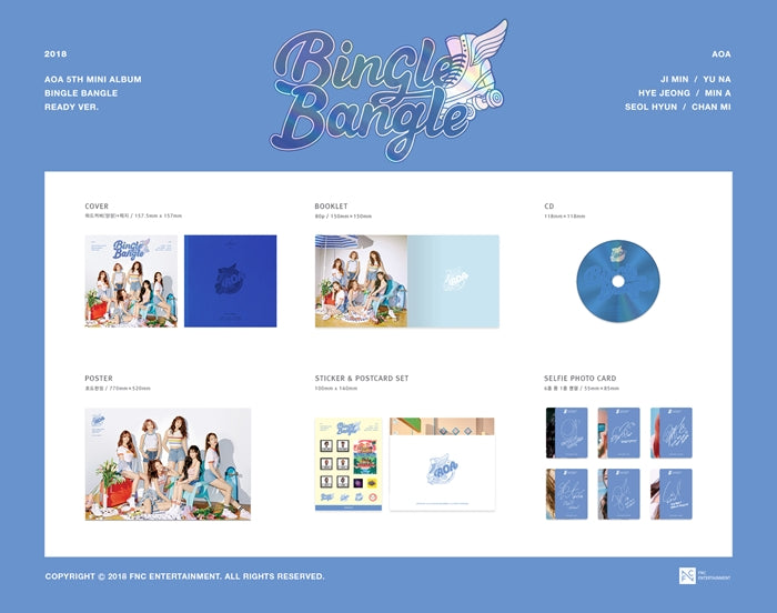 에이오에이 AOA 5TH MINI BINGLE BANGLE