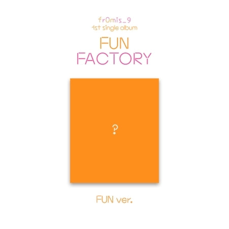 Fromis_9 Khino 1st Single Album - FUN FACTORY Khino Kit