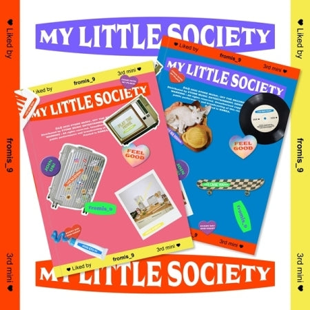 Fromis_9 3rd Mini Album - My Little Society
