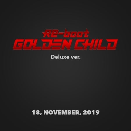 [Pre-Order] (Deluxe Ver.) Golden Child 1st Album - Re-boot
