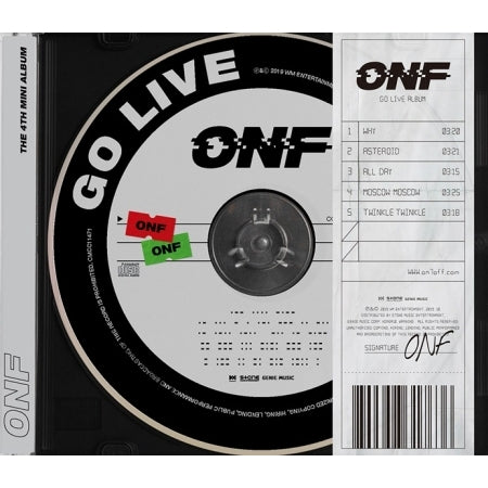 ONF 4th Mini Album - GO LIVE