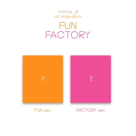 [Pre-Order] Fromis_9 1st Single Album - FUN FACTORY
