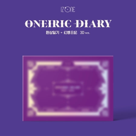 [Pre-Order] IZ*ONE 3rd Mini Album - ONEIRIC DIARY 3D Version