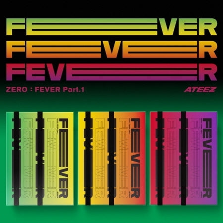 [Pre-Order] ATEEZ Album - ZERO : FEVER Part.1