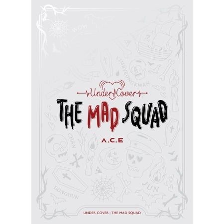 [Pre-Order] A.C.E 3rd Mini Album - UNDER COVER : THE MAD SQUAD