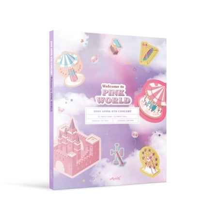 [Pre-Order] APINK 6TH CONCERT [WELCOME TO PINK WORLD] DVD
