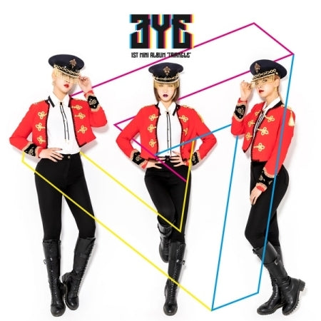3YE 1st Mini Album - TRIANGLE