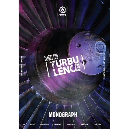 [Limited Edition] GOT7 Flight Log : TURBULENCE Monograph