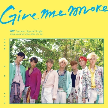 [Pre-Order] VAV Summer Special Single Album - GIVE ME MORE