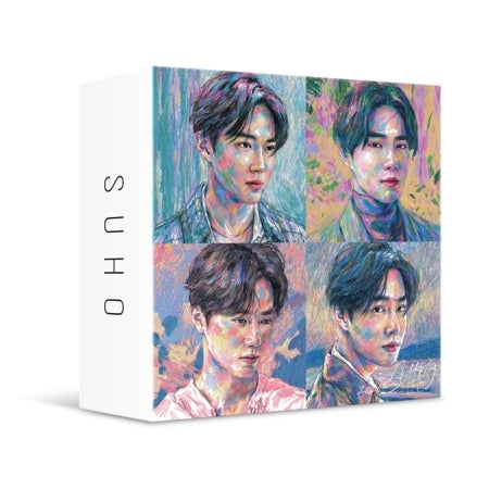 [Pre-Order] [KiT] SUHO 1st Mini Album - Self-Portrait (Kit Ver.) Air KiT