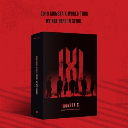 MONSTA X 2019 World Tour - WE ARE HERE in SEOUL - DVD (3DISC)