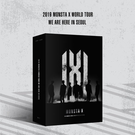 [Pre-Order]  MONSTA X 2019 World Tour - WE ARE HERE in SEOUL - KIT VIDEO