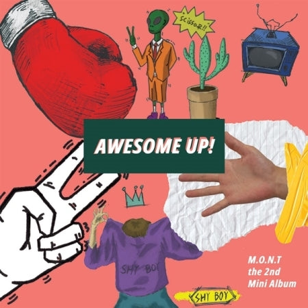 [Pre-Order] M.O.N.T 2nd Mini Album - AWESOME UP!