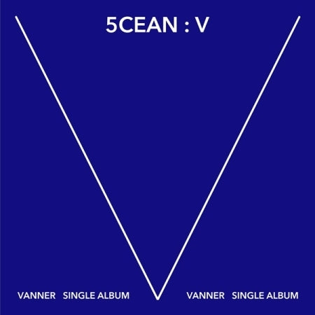 VANNER 1st Single Album - 5CEAN: V