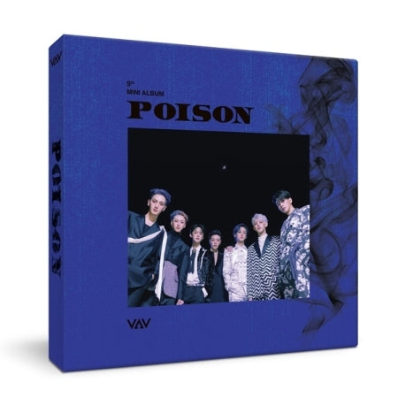 [Pre-Order] VAV 5th Mini Album - POISON