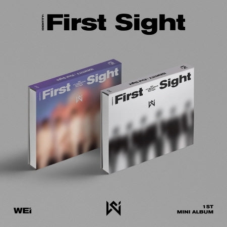 [Pre-Order] WEi 1st Mini Album - IDENTITY : FIRST SIGHT