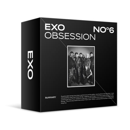 [Pre-Order] [Re-release] EXO 6th KiT Album - OBSESSION Air KiT