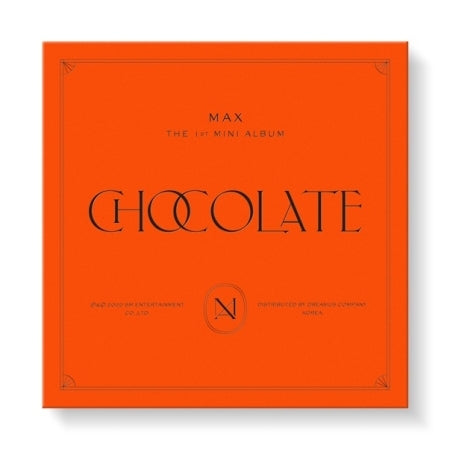 [KiT] TVXQ MAX 1st Mini Album - Chocolate Air KiT