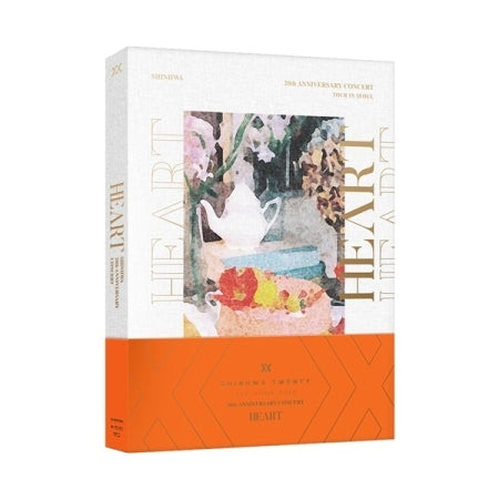 2018 SHINHWA 20TH ANNIVERSARY CONCERT [HEART] DVD (2 DISC)