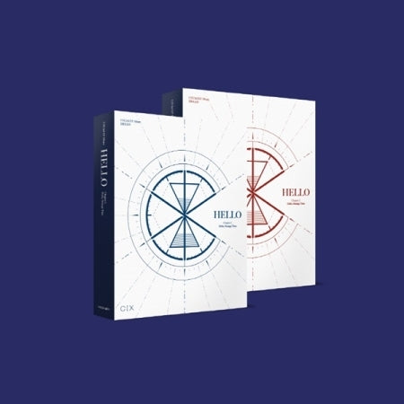 [Pre-Order] CIX 3rd Mini Album - 'HELLO' Chapter 3 Hello, Strange Time