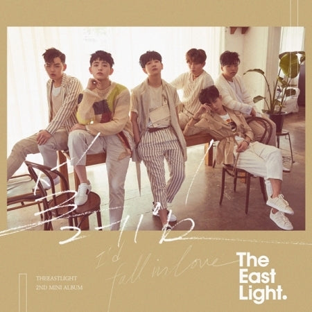 [Pre-Order] THE EASTLIGHT 2ND MINI ALBUM - 설레임