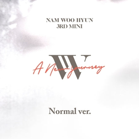 (Regular Edition) Nam Woo Hyun 3rd Mini Album - A NEW JOURNEY