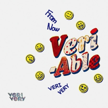 [Pre-Order] [Limited Edition] VERIVERY 2nd Mini Album - VERI-ABLE (DIY Ver) CD