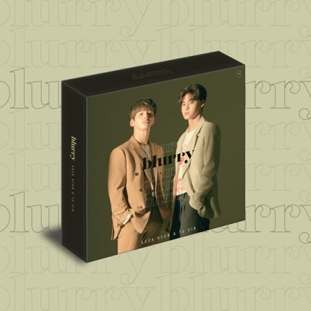 [KIHNO] KOOK HEON & YU VIN 1st Single Kihno Album - BLURRY Kihno Kit