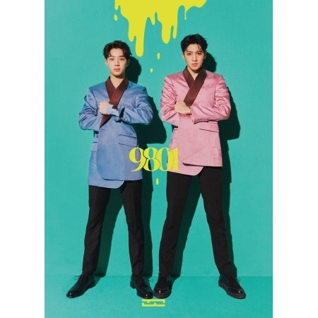 우석X관린 WOOSEOK x KUANLIN 1ST MINI ALBUM - 9801 CD