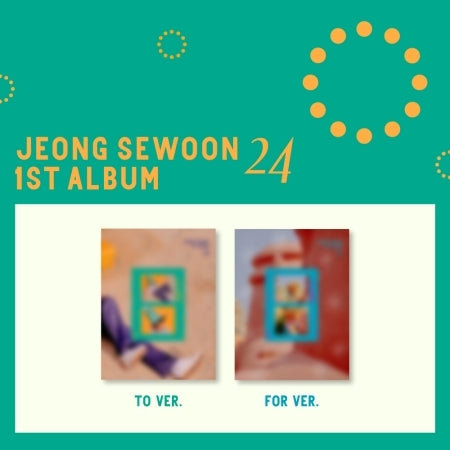 [Pre-Order] JEONG SEWOON 1st Album - 24