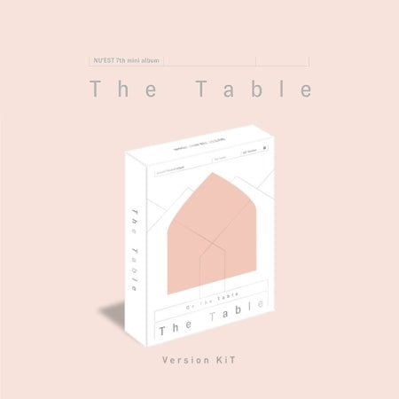 [Pre-Order] [KiT] NUEST NU'EST 7th Mini Album - The Table [Air-KiT]