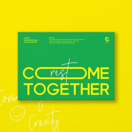 [Pre-Order] CRAVITY Come Together Official Summer Package - Rest Version