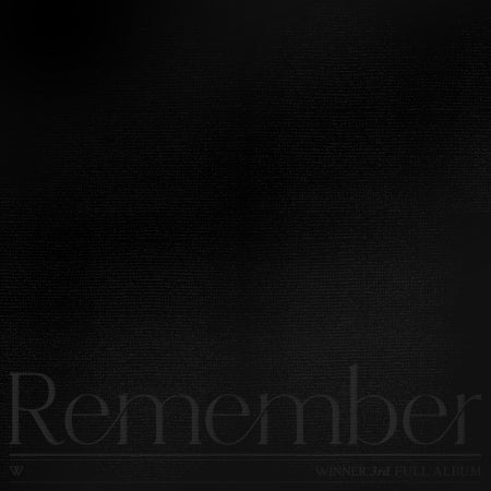 [Pre-Order] WINNER 3rd Album - Remember