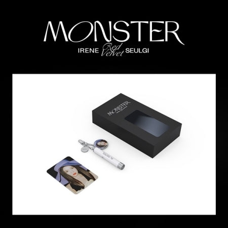 Pre-Order] Irene and Seulgi Monster Official Merchandise - PHOTO PROJECTION KEYRING